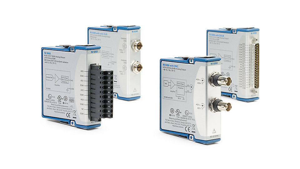 CompactDAQ Modules - CompactDAQ Systems - National Instruments