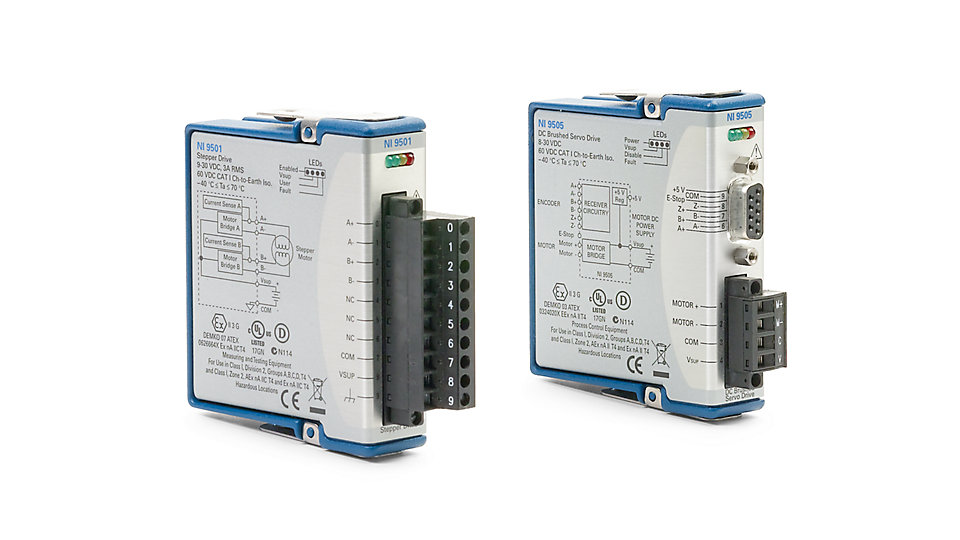 motion control data acquisition and control national instrumentsc series motor drive module
