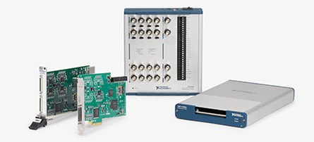 ni multifunction i/o hardware is available in various form factors including usb, pci, and pci express