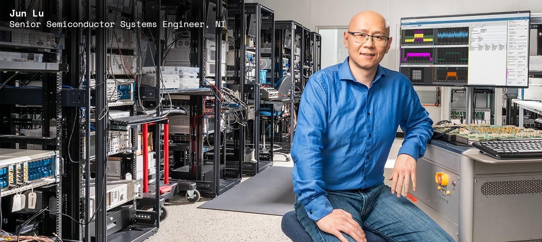 Jun Lu, Senior Semiconductor Systems Engineer, NI