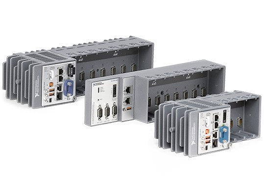 compactrio real-time controllers are rugged, featuring integrated vision and industrial communication