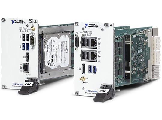 integrated pxi controllers contain everything you need to run your pxi system without an external pc