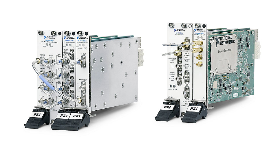 RF Signal Generators - Wireless Design and Test - National