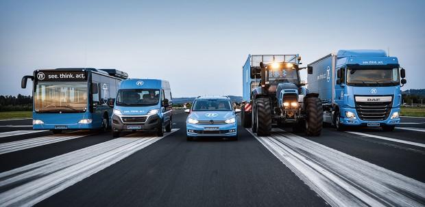 The future of autonomous vehicles includes automobiles, mass transit, and commercial vehicles