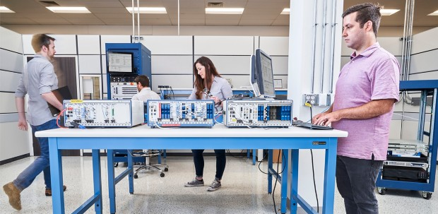 NIers collaborate in the Aerospace and Defense Alpha Lab