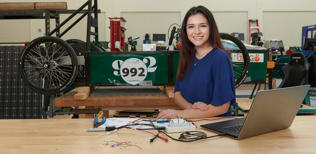 Olivia Garcia, student at The Science Academy of South Texas