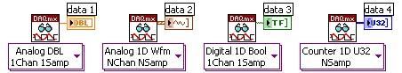 NI-DAQmx Read VI
