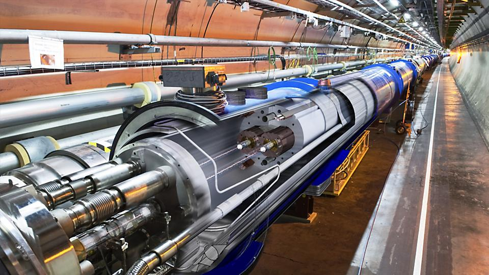 CERN scientists and engineers conduct plasma physics experimentation relying on particle accelerators and particle colliders to recreate and study the high energy conditions that existed during the formation of the early universe.
