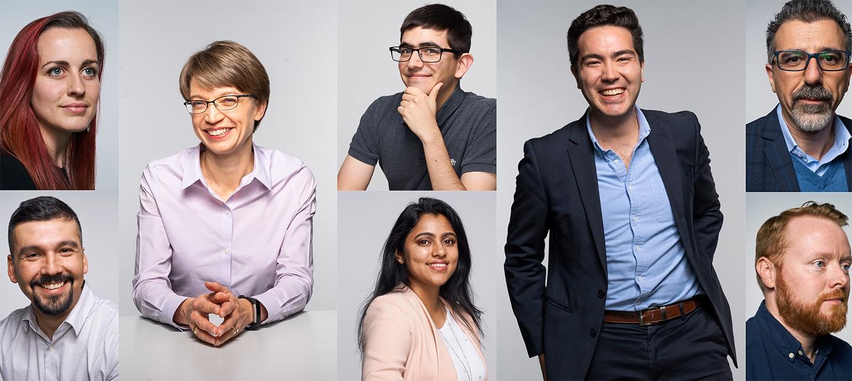 Portraits of NI engineers