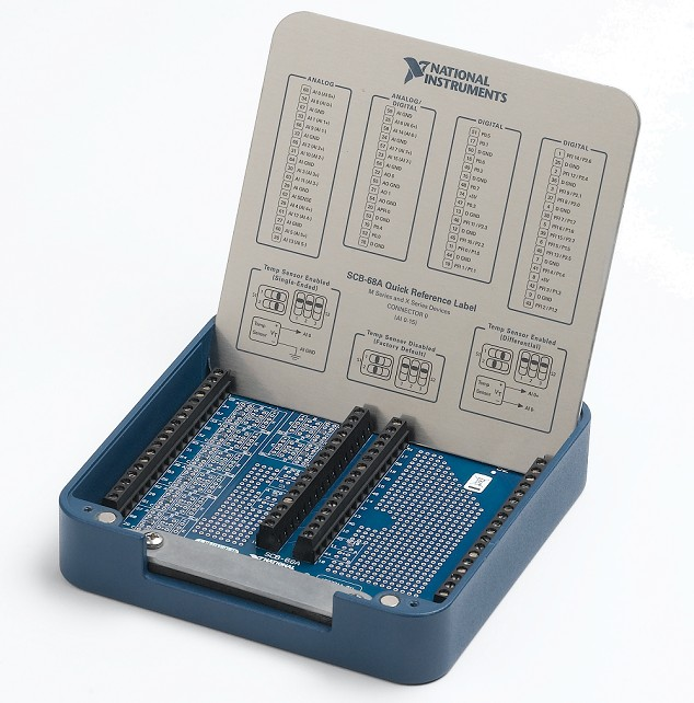 NI SCB-68A Shielded Connector Block