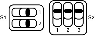 SCB-68A MIO Differential Temperature Sensor Mode DIP Switch