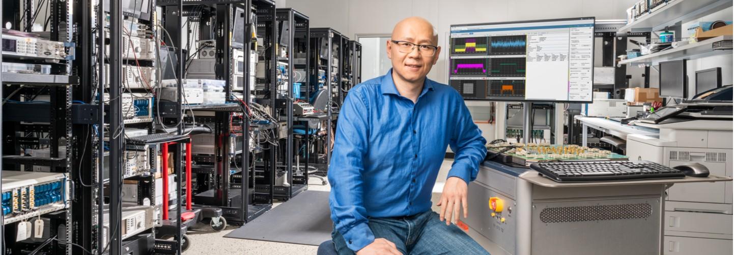 Jun Lu, Ingeniero Senior de Sistemas de Semiconductores, NI