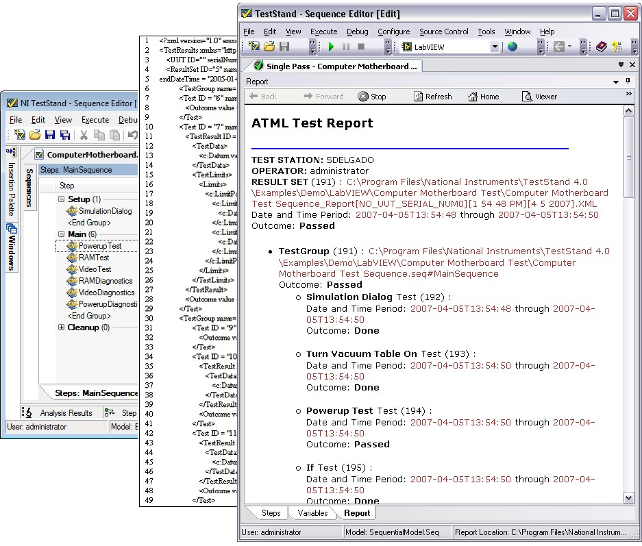 ATML – The Standard for Interfacing Test System Components Using XML