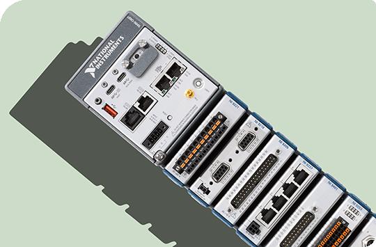 ni compactrio 시스템의 앞면 모습