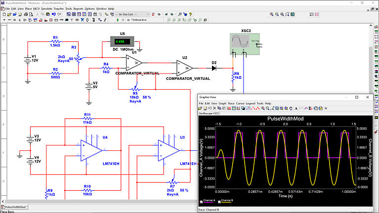 How Do I Use Multisim To Analyze Circuit Behavior Ni