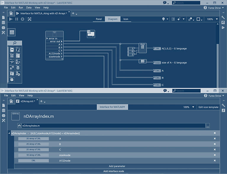 Real time wireless communications using LabVIEW