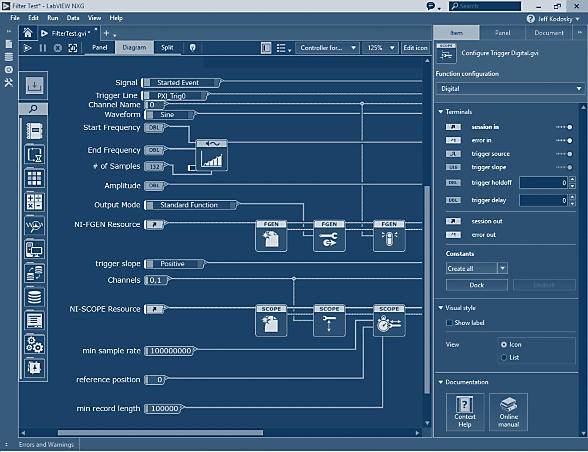 LabVIEW NXG - National Instruments