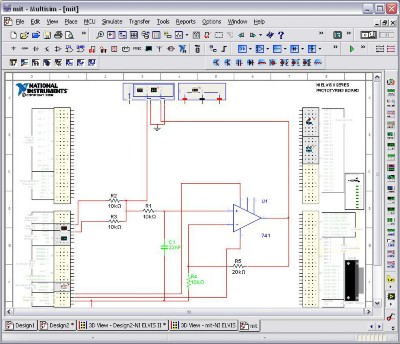 top 10 ni multisim educational features national instrumentsni elvis ii series schematic view