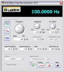 NI-ELVISmx Function Generator Panel