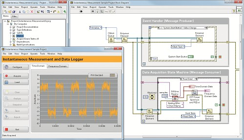 Using LabVIEW with NI CompactDAQ (cDAQ)