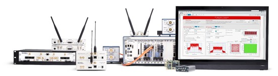 NI SDR platforms are highly portable and high-performance