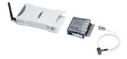 NI-Wireless-Datenerfassungsgeräte umfassen das Gehäuse WLS-9163 und Messmodule der C-Serie.